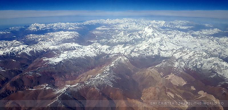 Anzii, între Santiago de Chile și Lima.