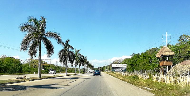 Autostrada Cancun - Tulum