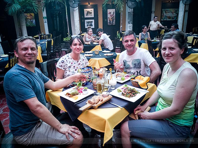 Restaurant Amaro, Merida.